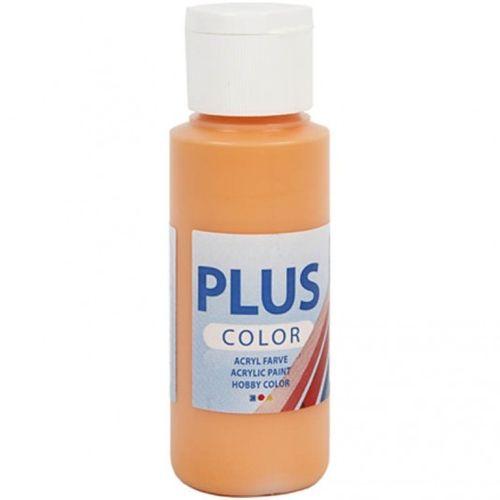 Plus Color Bastelfarbe, kürbis, 60 ml
